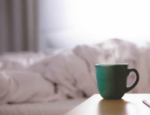 Desayuno en dormitorio